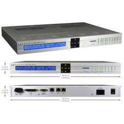 Baie de réception IP pour télésurveillance par IP Paradox réf-IPR512
