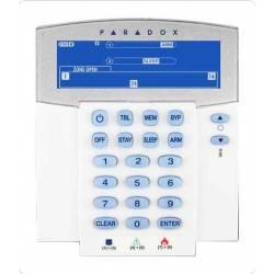 Clavier LCD 32 zones radio autonome 1 année compatible MG et SP avec RTX3 Paradox réf-K37