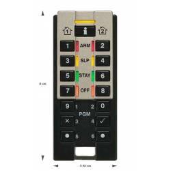 Télécommande clavier radio pour MG-SP-RTX3 fonctions diagnostics Paradox réf-REM3