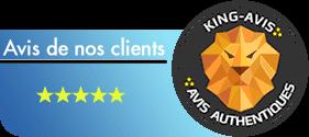 King-Avis clients authentiques