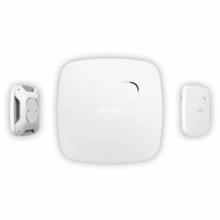 Centrale HUB d'alarme AJAX Systems - GSM + Ethernet - Blanc