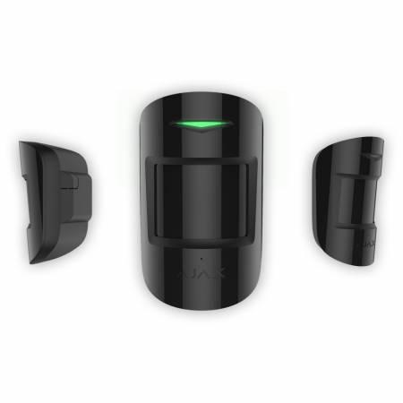 Motion Protect Plus - détecteur de mouvement AJAX sans fil avec capteurs IRP et Micro-ondes- Noir
