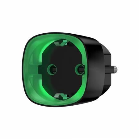 Prise intelligente sans fil AJAX avec contrôle d'énergie - noir