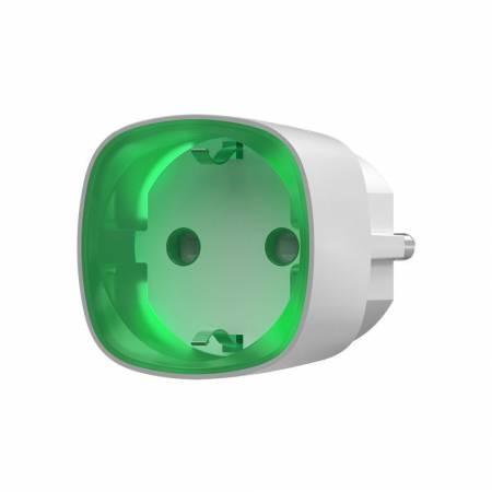 Prise intelligente sans fil AJAX avec contrôle d'énergie - blanc