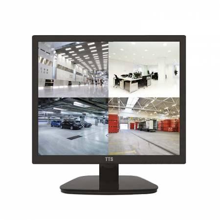 "Moniteur LCD vidéo professionnel 17"" HD VGA HDMI BNC Audio"