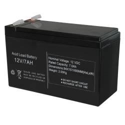 Batterie rechargeable 12V 7Ah S12V-7Ah