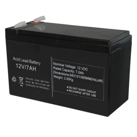 Batterie rechargeable 12V 7Ah S12V-7AH AGM
