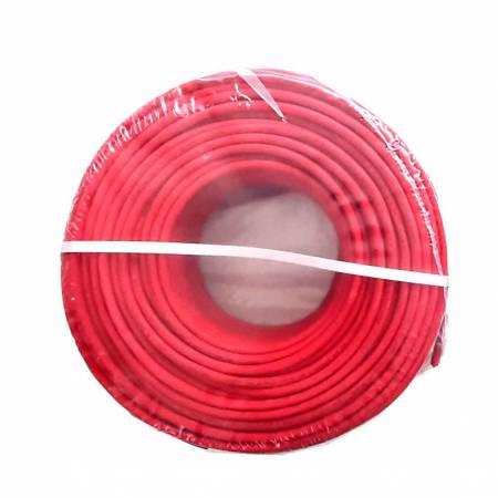 Bobine de 100m câble 2x1mm² rigide résistant au feu blindé avec drain de masse