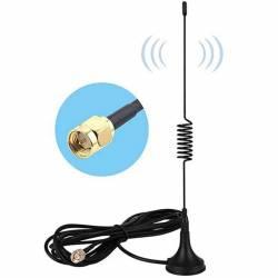 Antenne GSM 2G/3G/4G avec câble de 2m