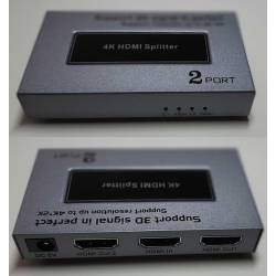 Splitter doubleur de port HDMI 4K