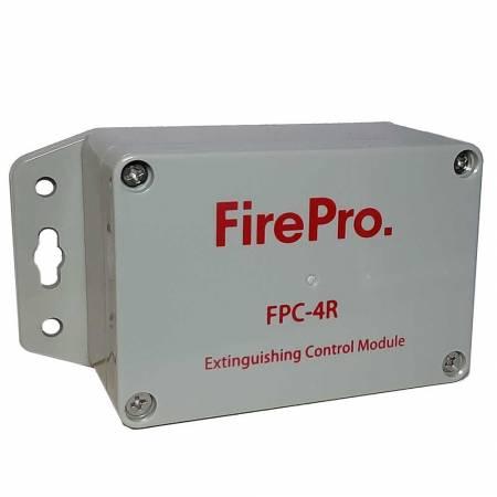 Unité autonome d'extinction FirePro pour armoire et coffret FPC4R étanche