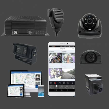 DVR mobile embarqué de 4 à 16 caméras HD et IP