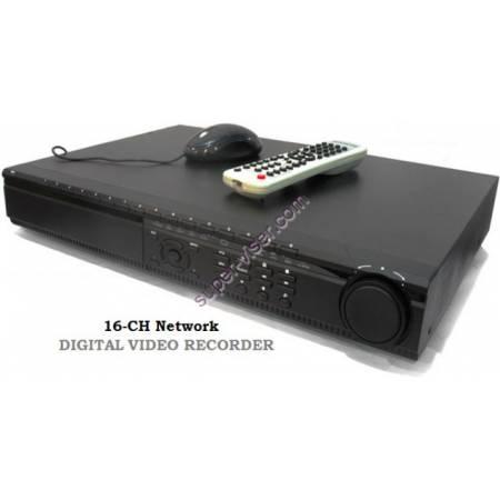 DVR 16-Caméras H.264 enregistreur vidéo TCP IP télécommande sans HDD