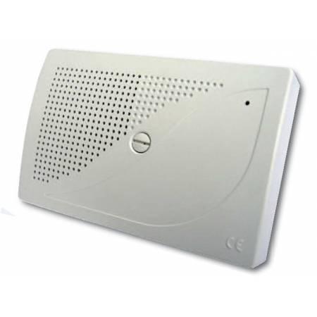SIBOX Sirène intérieure ABS 112 Db Auto-alimentée Auto-protégée Garantie 5ans