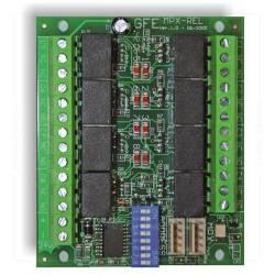Carte de 8 relais d'asservissements pour centrale ORION MPX-REL-8