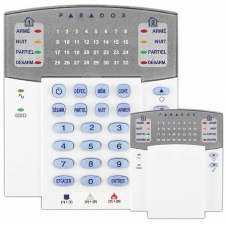 K32RF clavier sans fil LED 32 Zones MG5000 et MG5050 Paradox