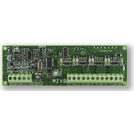 Module d'extension bus 8 zones pour centrale EVO Paradox réf-ZX8