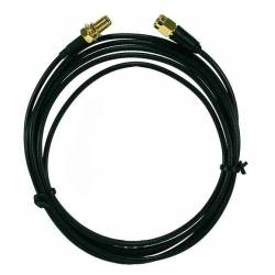 Câble d'antenne GSM rallonge pour transmetteur PCS250 de 2m Paradox EXT2