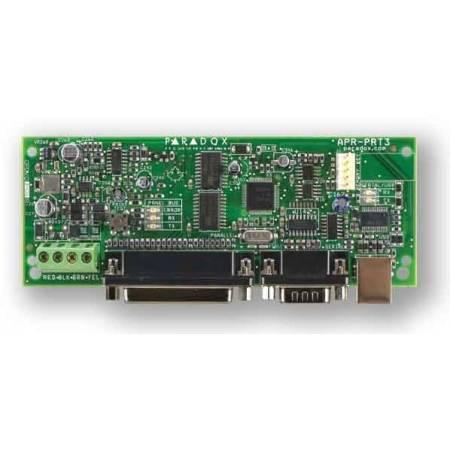 Module intégrateur et imprimante pour centrale EVO Paradox réf-PRT3
