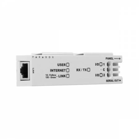 Module internet filaire de communication IP contrôle et programmation Paradox réf-IP150