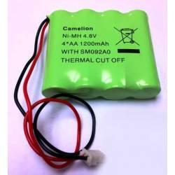Pack pile lithium rechargeable de remplacement pour MG6250 Paradox MGPILE6250