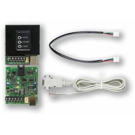 Convertisseur RS232 pour liaison PC vers centrale jusqu'à 300m Paradox réf-CV4USB