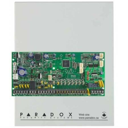 Centrale 8 zones (16 avec ATZ) extensible à 32 zones en coffret Paradox réf-SP6000
