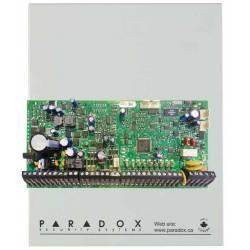 Centrale 192 zones équipée 8 zones (16 ATZ) et gestion HD77 en coffret avec transformateur Paradox EVO HD