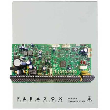 Centrale 192 zones équipée 8 zones (16 avec ATZ) 5 relais compatible caméra HD77 en coffret Paradox réf-EVOHD