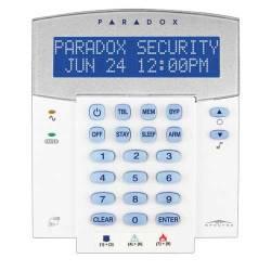 Clavier LCD 32 zones pour gamme Spectra intégre un RTX3 émetteur récepteur radio 32 zones radio Paradox K32LX-A