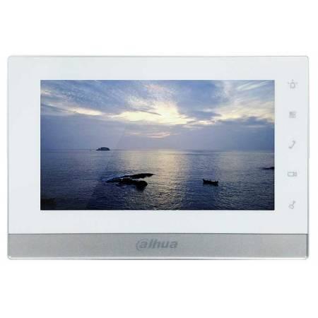 DAHUA-558 (réf. Fabricant VTH1550CHW-2) Moniteur IP vidéophone 7 pouces à 2 fils avec slot micro-SD