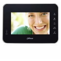 """Moniteur IP vidéophone de 7"""" noir avec slot micro-SD Réf. VTH1560B"""