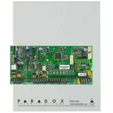 Centrale 4 zones (8avec ATZ) extensible à 32 zones en coffret Paradox réf-SP4000