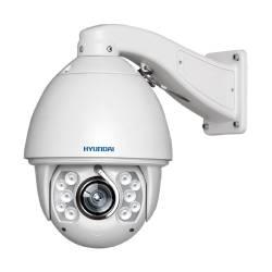 Caméra dôme PTZ HD-TVI de 2 mégapixels avec zoom 5-100mm avec nettoyage objectif et éclairage IR de 150 m