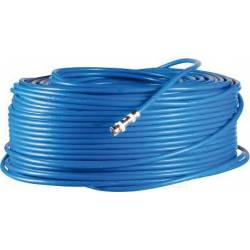 Rouleau de 250m de câble coaxial 75-5 sans halogène pour vidéo HD-TVI et AHD CVI SDI