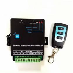 Lecteur Bluetooth et recepteur de télécommande autonome ou centralisé Wiegand