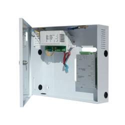 Contrôleur d'accès 2 lecteurs TCP/IP en coffret d'alimentation chargeur 220V et licence 10 lecteurs