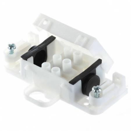 Boitier avec domino 3 poles étanche IP54 faible encombrement