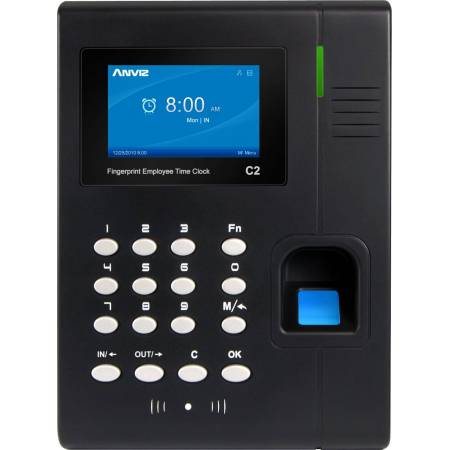 Lecteur biométrique d'empreinte digitale et de badge de proximité C2