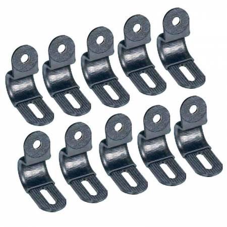 Pack de 10 colliers de fixation du LHD avec caoutchouc