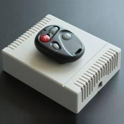 Télécommande et récepteur radio pour automatisme 2 relais programmables
