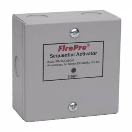 Activateur séquentiel des générateurs Firepro en cascade - 1 entrée 2 sorties -