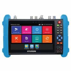 Testeur vidéo multistandart CVBS, CVI, TVI, AHD, SDI, IP, PTZ, HDMI, POE, FO, WIFI