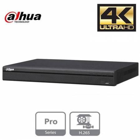 NVR IP de 8 canaux 4K 8Mp. H.265/H.264/MJPEG/MPEG4. Audio bidirectionnel