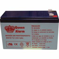 Batterie 12V 7,2Ah rechargeable
