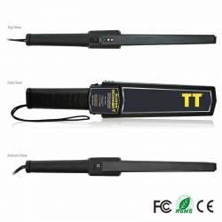 Détecteur de métal portatif pour inspection manuelle et préciser la fouille Super Scanner