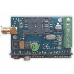 Passerelle GSM pour alarme compatible protocole Contact ID - CID -, 4/2, SIA FSK avec une entrée et sortie