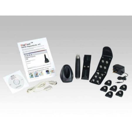 Kit Digitool avec lecteur, 20 points de contôle, base et cordon USB-DB9 avec logiciel Report Lite