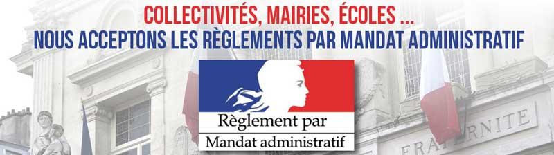 paiement par mandat administratif pour les administrations françaises